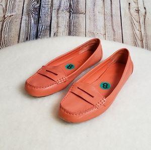 Lauren Ralph Lauren Corita Loafer Orange Size 8